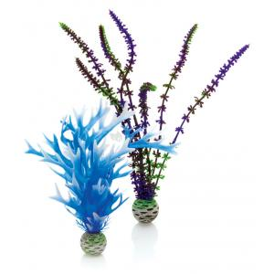 BiOrb planten medium blauw & paars aquarium decoratie (9.95 EUR)