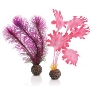 BiOrb zeewier set klein roze aquarium decoratie (13.95 EUR)