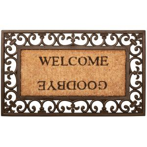 Deurmat welcome goodbye (18.95 EUR)