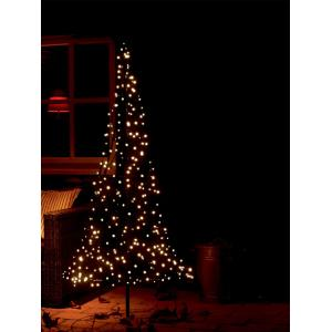 Fairybell licht kerstboom 185 cm 250 led warmwit met mast (169.00EUR)