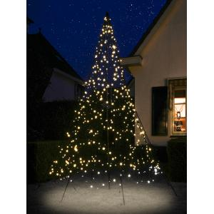 Fairybell licht kerstboom 300 cm 480 led warmwit met mast (269.00EUR)
