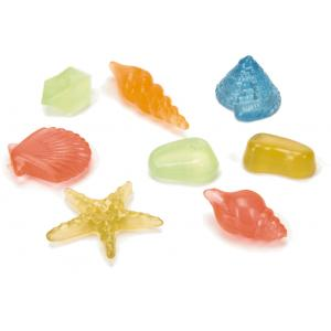 Schelpjes en steentjes set glow in the dark aquarium decoratie (9.99 EUR)